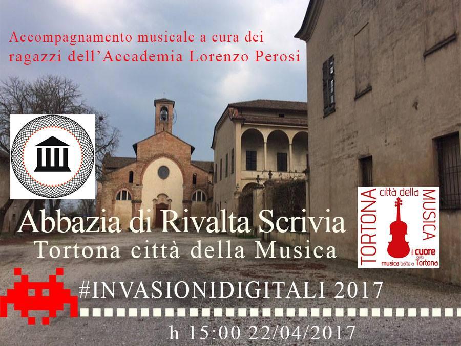Invasioni digitali all'Abbazia Cistercense di Santa Maria a Rivalta Scrivia