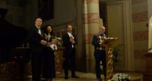 Tortona, i ringraziamenti al Maestro Battegazzore, alla Soprano Okabe e al Tenore Bollani