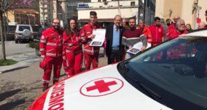 Ronco Scrivia, la Croce Rossa ha inaugurato la nuova automedica