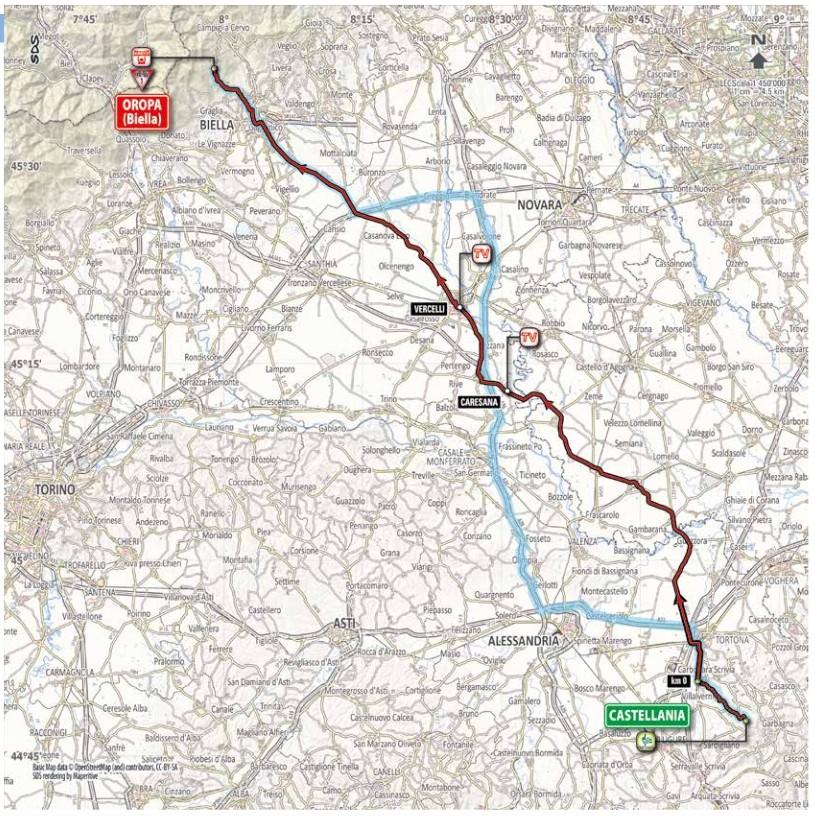 Da Castellania a Oropa da Fausto e serse Coppi a Marco Pantani
