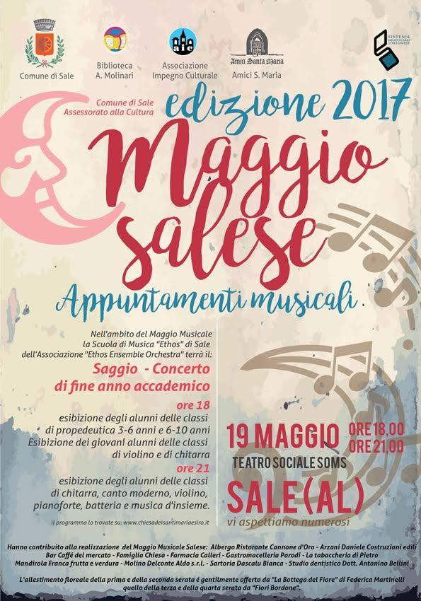 Maggio Musicale salese 19 maggio 2017