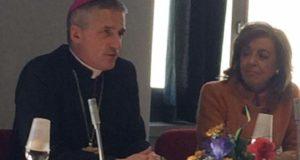 Mons. Viola in visita pastorale alla Università delle 3 età di Tortona