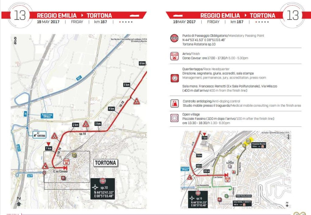 La Garibaldi del Giro d'Italia a Tortona
