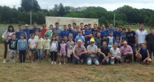 Fresonara, gli studenti di agraria festeggiano la conclusione delle attività produttive