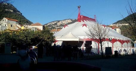 Il Circo Medrini a Brusson