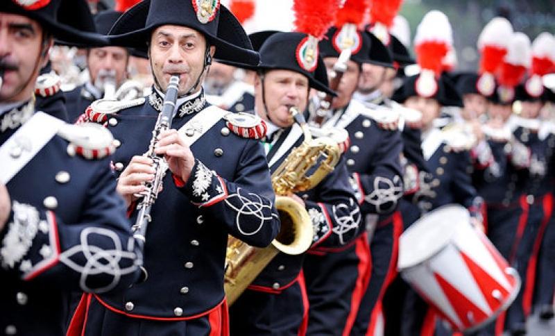 Cabella Ligure, arriva la Fanfara dei Carabinieri