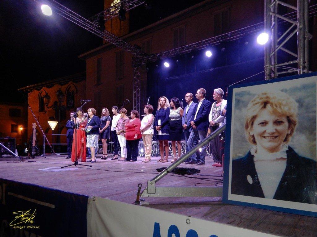 L'unità di Senologia di Tortona sul palco di Castelnuovo Scrivia