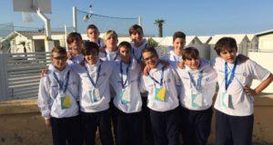 I Leoni under 14 della Pallamano di Tortona al trofeo Coni 2017