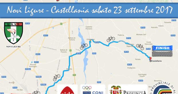 Tutto pronto per la 21° pedalata da Novi Ligure a Castellania