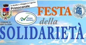Sant'Olcese, ritorna la Festa della Solidarietà