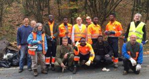 Urbe, volontari puliscono i boschi del territorio