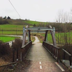 ponte ciclabile provincia di alessandria