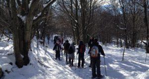 Beigua, l'escursione della Befana al Monte Avzè