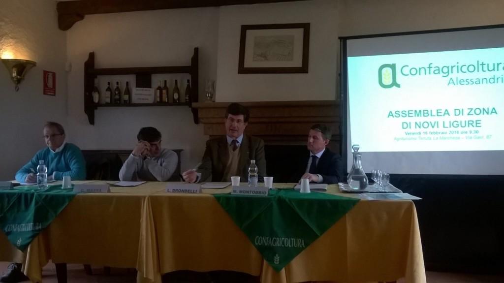 Novi Ligure, si è tenuta l'assemblea di zona di Confagricoltura