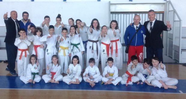 Tempio del Karate stellare al Trofeo Città di Voghera