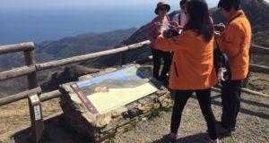 Una delegazione di Hong Kong ha visitato il Geoparco del Beigua