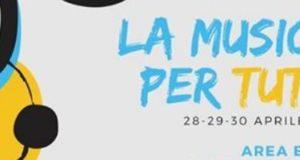 """""""Musica per tutti"""", tre giorni di festa all'Area Expo"""