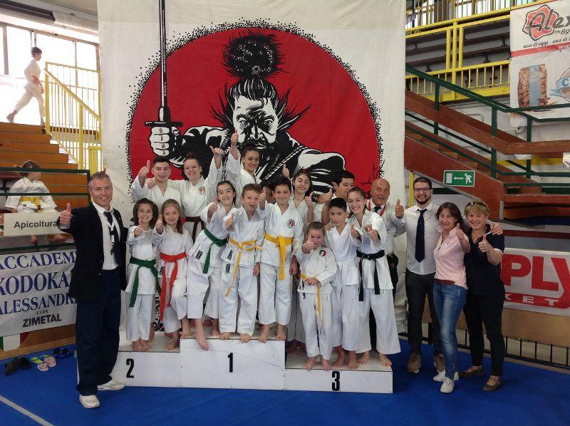 Grand Prix alessandrino nel segno del Tempio del Karate