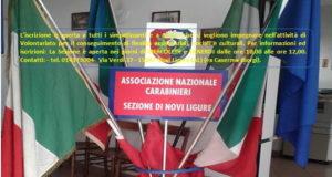 Novi Ligure, apre la pagina FB dell'Associazione Nazionale Carabinieri