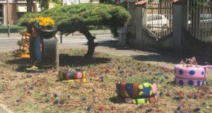 Tortona, dai rifiuti nascono… i fiori