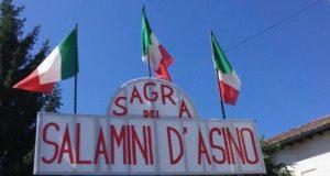 Castelferro, la 43° Sagra dei salamini d'asino