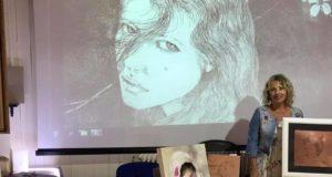 Mele, l'arte di Rossella Baldecchi per Genova