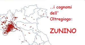 I cognomi dell'Oltregiogo: Zunino