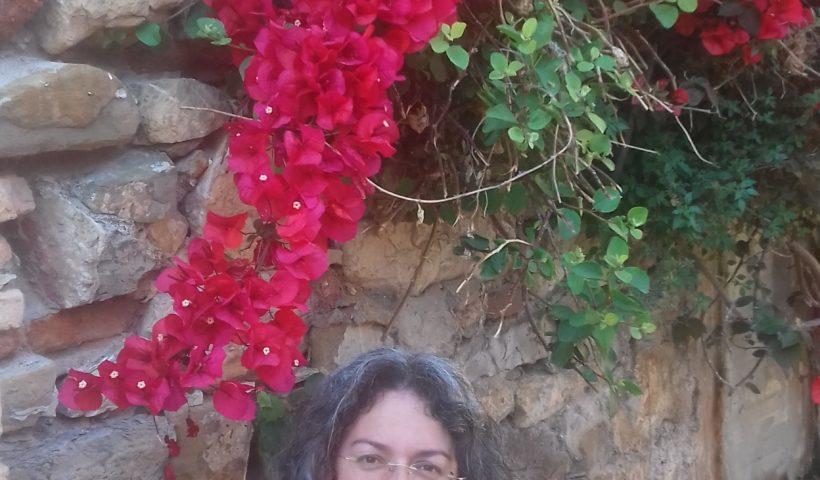 La scrittrce archeologa Elena Ponte